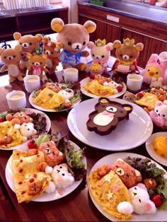 Kawaii Character Food Art