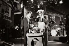 July 1, 1956. The Hudson Theatre, New York.