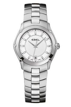 Ebel Women's Swiss Sport Two-Tone Stainless Steel Bracelet Watch 1216028 Stainless Steel Watch, Stainless Steel Bracelet, Sport Watches, Gold Watch, Rolex Watches, Bracelet Watch, Jewelry Watches, Luxury, Bracelets