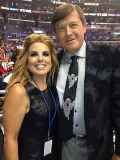 Liz Habib with CRAIG SAGER'S SUIT!!!! Halloween 2013
