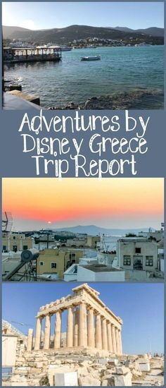 My Adventures by Disney Greece trip report, describing all ten days of our trip that went to Athens, Santorini, and Crete. Disney World Tips And Tricks, Disney Tips, Disney Disney, Disney Cruise, Disney Parks, Disney Destinations, Disney Vacations, All Family, Family Travel