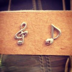 Music note earrings. ($15) - Perfect for the music lover in your midst.