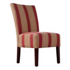 Handy Living 2-pk. Striped Dunley Chairs