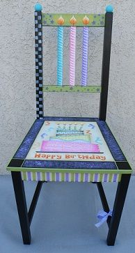 It's My Birthday Chair
