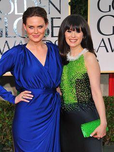 sister act: Emily and Zooey Deschanel