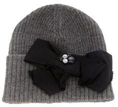 Lanvin Bow Hat - Lyst