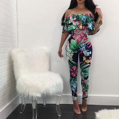 2017 New arrive high fashion casual jumpsuit slash neck