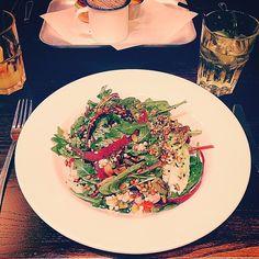 Delicious quinoa salad for lunch today  #foodie #foodporn #foodphotography #instafood #vsco #vscocam #veggie #vegetarian #eatclean #healthy #tasty #salad #tasty #edinburgh #edibleedinburgh #stockbridgeedinburgh #stockbridge #edinburgh #scotland