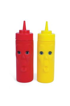 I never really liked condiments.. but these totally creep me out.