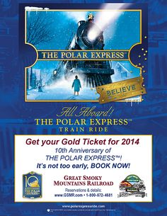 1000 images about great smokey mountains railroad on for What is the best polar express train ride