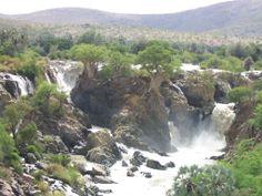 Epupa Falls, Kunene River, Namibia.