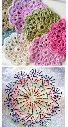 Transcendent Crochet a Solid Granny Square Ideas. Inconceivable Crochet a Solid Granny Square Ideas. Flower Motif, Crochet Flower Patterns, Afghan Crochet Patterns, Crochet Chart, Crochet Afghans, Crochet Squares, Crochet Doilies, Crochet Flowers, Knitting Patterns