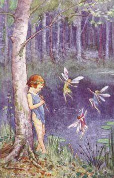 Piper Dreams   Margaret Tarrant (1888—1959)