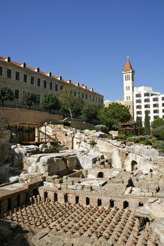 tripmii - Beirut - Roman Bath - <3