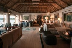 Explore Victoria Falls & Livingstone while you stay at the Tongabezi Lodge. The Tongabezi Lodge offers authentic accommodation, great food & much more. River Cottage, Livingstone, Victoria Falls, Luxury Camping, Adventure Activities, Lodges, Relax, Vacation, Places