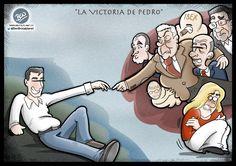 La Victoria de Pedro (Primarias del PSOE)