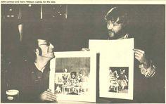 """John Lennon and Harry Nilsson - """"Catnip for the ears"""""""