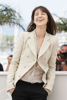 Charlotte Gainsbourg -  I adore her style!