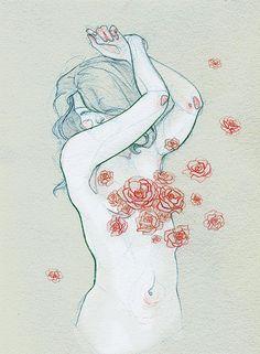 blanche. by Adara ., via Flickr