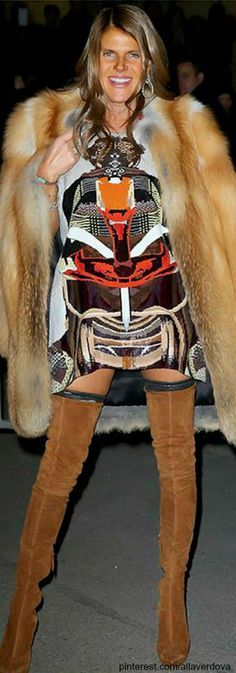 Street style - Anna Dello Russo | The House of Beccaria~