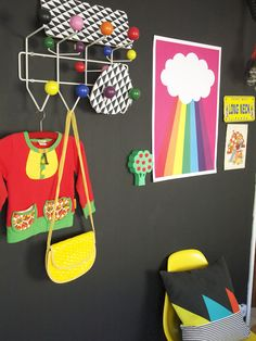 Colour your kids room. Paint a wall with blackboard paint and decorate with bright colourful things :)