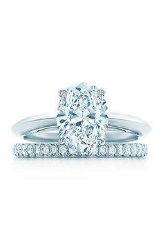 Tiffany Oval-Cut Engagement Ring