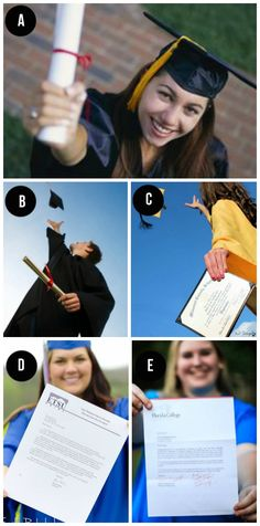 Graduation photography inspiration- cap and gown pictures ideas.