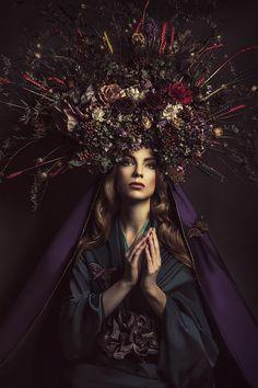 Madonnas by Katarzyna Widmanska, via Behance