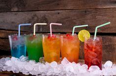 5 Cocktail Recipes: Blue Valium, Liquid Marijuana, Peached Whale, Tootie Fruity, and Cape Cod.
