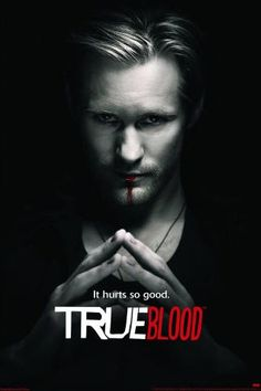 True Blood - it just hit me like a baseball bat. Loving it to the last drop. And yeah, Alexander Skarsgård is truly the hottest man from Scandinavia. Those Swedish girls are lucky.