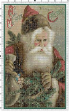 Cross Stitch Pattern A Merry Christmas by theelegantstitchery, $15.00