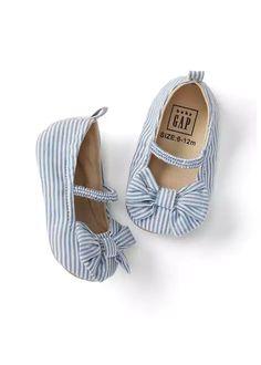8d4bdb8161a Bow Ballet Flats | Gap Zapatos Para Bebe Niña, Moda Para Bebes, Ropa De