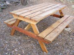 wood picnic table plan - Wood Picnic Table
