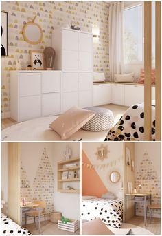 BATTLE DÉCO Create a child's bedroom – little girl rooms