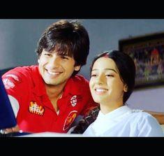 Amrita Rao and shahid Kapoor Amrita Rao, Bollywood Couples, Shahid Kapoor, Indian Beauty, Intuition, True Love, Real Love