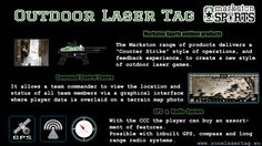 Outdoor Laser Tag from Zone Laser Tag Europe.