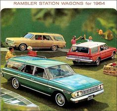 1964 Rambler Station Wagons