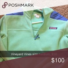 Vineyard Vines Pullover Size small mint green pullover Tops Sweatshirts & Hoodies