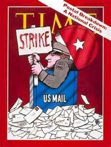 TIME- U.S. Postal Strike March 30, 1970