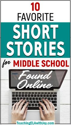 10 Favorite Short Stories for Middle School Found Online – Teaching ELA with Joy 10 Favorite Short S These ten top-notch short stories are perfect for teaching in middle school. Students can access the stories online and explore relevant themes. Middle School Ela, Middle School Literature, Middle School English, Middle School Classroom, English Classroom, Ela Classroom, Reading Games Middle School, Classroom Ideas, Online Middle School