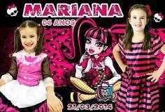 Ímã de geladeira da Mariana - 6 anos