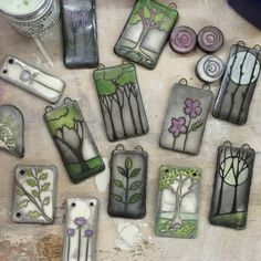 Art Jewelry Elements: Painting with smoke