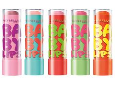 Maybelline Baby Lips in fun limited-edition shades! I am OBSESSED with baby lips!I have them all.