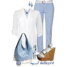 Oversized White Blouse