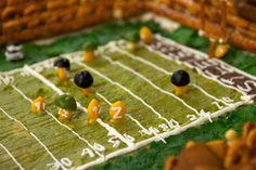 Edible Football Stadiums. #superbowl #football http://www.ivillage.com/edible-football-stadiums/3-b-423940#
