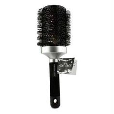Rusk Heat Freak Ionic and Ceramic 3.5inches Round Brush (Black) 1pc Rusk