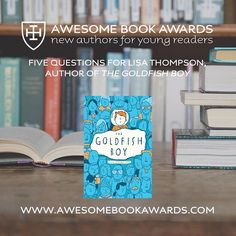 The next #awesomebookawards Q&A session with @lisathompsonwrites author of The Goldfish Boy is now online! Read it here: www.awesomebookawards.com/5-questions-lisa-thompson #cranleigh #cranleighschool #cranleighprep #surrey #awesomebookawards2018 #bookawards #authorawards #aba2018 #lisathompson #thegoldfishboy