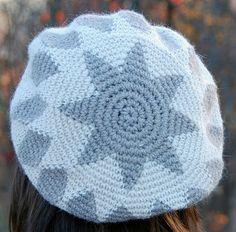 Tapestry Crochet Star Hat (crocheted right-handed) | by tapestrycrochet