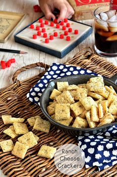 No bake seasoned saltines crackers do it yourself today homemade rach cheese crackers recipe at tidymom solutioingenieria Image collections