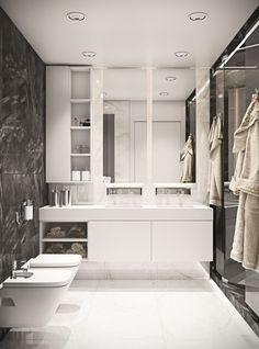 MASTER BATHROOM | BLACK OAK | MUSA STUDIO | Architecture and interior design. Tel: (+373)60-10-20-30 | www.musa.md